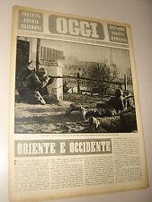 OGGI=1942/1=C.S.I.R. ITALIA RUSSIA GUERRA=ENGLAND SOLDIERS=NEVRA GARATTI=MIRANDA