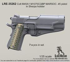 Live Resin 1/35 LRE-35262 Colt M45A1 M1070CQBP MARSOC .45 Pistol (3)