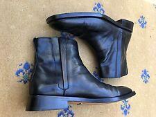 Gucci Men's Shoes Black Leather Chelsea Dealer Boots UK 10 US 11 EU 44