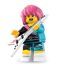 Brand New Sealed Lego 8831 Minifigures Series 7 - Rocker Girl (Sealed Unopened)