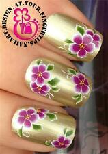 NAIL ART WATER TRANSFERS DECALS STICKERS DECALS DECORATION FLOWERS & LEAVES #275