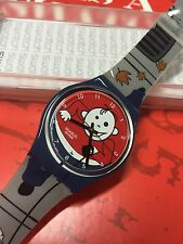 VINTAGE Swatch GENT GN224 Avoid Du Chien   2006 New In Box Kids Artist
