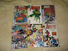 6 AVENGERS MARVEL COMICS 361.362.364.365.367.368
