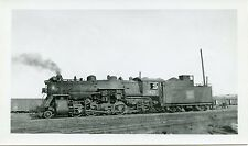 5D428 RP 1955 GRAND TRUNK RAILROAD TRAIN ENGINE #3410 IN VIRGINIA