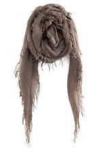 CHAN LUU NEW Deep Taupe CASHMERE & SILK SOFT SCARF Shawl Wrap New With Tags