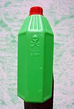 Apothekerflasche Giftflasche Totenkopf Flasche grün 500 ml Standgefäß Gift