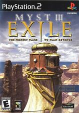 Myst III: Exile - Playstation 2 Game Complete