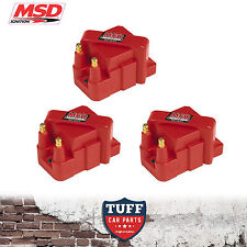 3 x MSD 8224 High Output Ignition Coil Holden Commodore V6 VN VP VR VS VT VX VY