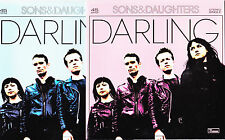 "Sons & Daughters - Darling - Deleted UK Limited Edition 2x 7"" set"