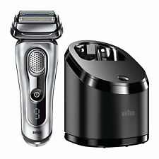 Braun Series 9 9095CC Wet/Dry Electric Shaver with Clean & Renew Charger (220V)