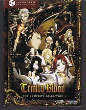 Trinity Blood: The Complete Series - Anime Classics (DVD, 2009, 4-Disc Set)