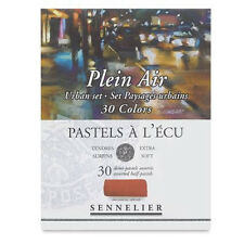 Sennelier Soft Demi Pastel Box Set. Professional Artists Pastels - 30 Urban