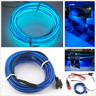 New 2m 12V Blue Embedded Car Interior Atmosphere Lamp Cold Wire Light For Holden