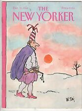 1984 New Yorker December 31 - Jester comes home after the New Years Party-Steig