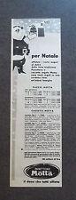 F335 - Advertising Pubblicità - 1955 - PANETTONE MOTTA