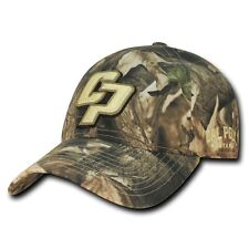 NCAA Cal State Poly University Mustangs Relaxed Hybricam Camouflage Caps Hats
