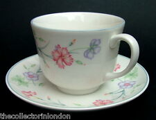 TWO Made For Boots Carnation Pattern Tea Cups & Saucers All Look in VGC