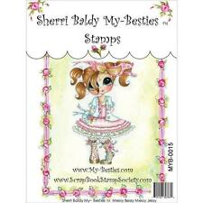 NEW My-Besties Clear cling Rubber Stamp MESSY BESSY JESSY girl Free USA ship