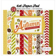 Carta Bella A Perfect Autumn 6x6 Paper Pad! 24 Sheets!