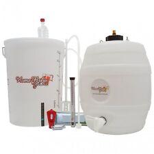 Home Brew Starter Kit Beer Cider Ale Making With Barrel / Keg CO2 Injection