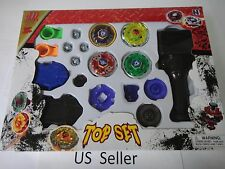 4D Launcher Grip Beyblade Set Metal Master Fusion Top Fight  Free Shipping