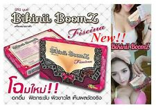 3 Box New Bikinii Boomz(Fiscina) Breast Enlargement Skin Brightening Supplement