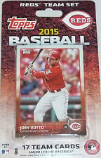Cincinnati Reds 2015 Topps Factory Sealed Team Set  Joey Votto Jay Bruce Chapman