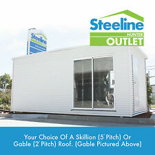 COLORBOND® Granny Flat / Retreat / Shed - 3.0m x 9.0m