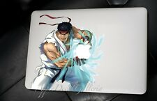 Street Fighter RYU Decal Sticker Skin Decals for Macbook Pro Air 13 15 17 BR