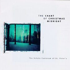 SCHOLA CANTORUM OF ST PETER'S: THE CHANT OF CHRISTMAS MIDNIGHT CD! NEAR MINT+