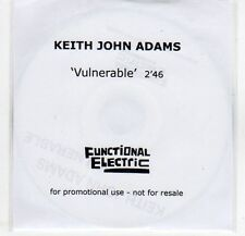 (EF292) Keith John Adams, Vulnerable - 2013 DJ CD