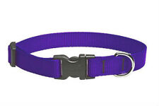 "Lupine Dog Collar 3/4"" PURPLE 13"" -  22"" New Adjustable USA"