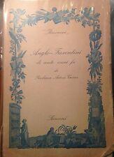 ARTOM TREVES, ITINERARI ANGLO-FIORENTINI DI CENTO ANNI FA, SANSONI 1953