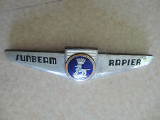 Original Sunbeam Rapier enameled car badge