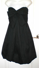 JOVANI BLACK STRAPLESS DRESS WITH FRONT BOW~8~BEAUTIFUL