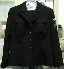 US NAVY WOMEN'S DRESS BLUE COAT OLD STYLE POLY/WOOL E2 AIR CONTROL 10S