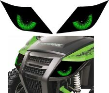 ARCTIC CAT headlight decal sticker 700 TRAIL XT WILDCAT wild 4x4 eyes half