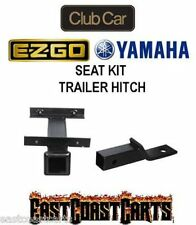 "Golf Cart Rear Seat Kit TRAILER HITCH with 2"" Receiver (FREE SHIPPING)"