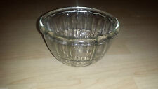 Vintage JAJ Pyrex Glass Dome Shaped Bowl Jelly Blancmange Mould 1 Pint Mould