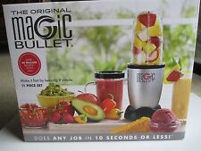 The Original Magic Bullet 11 Piece Hi-Speed Blender Mixer System Kitchen Cooking
