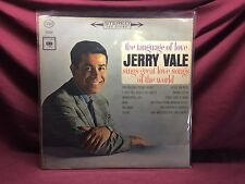 JERRY VALE; THE LANGUAGE OF LOVE 1963 COLUMBIA RECORDS VINYL **VG**