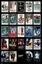James Bond 24 Movie Posters Collections 24 x 36 Inches Movie Poster