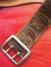 Superbe Ceinture ANDY WARHOL by PEPE JEANS LONDON Taille 65 NEUVE !