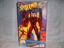 """Carnage 10"""" Deluxe Edition Marvel Universe Animated Series Toy Biz 1994 New"""
