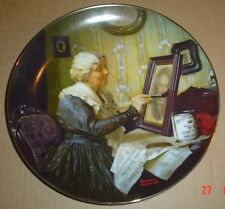Knowles American Fine China GRANDMA'S LOVE By Norman Rockwell