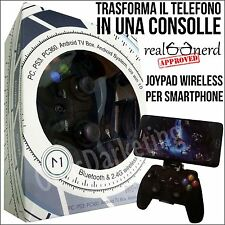 JOYPAD GAMEPAD GAME WIRELESS BLUETOOTH PER SONY ERICSSON XPERIA S