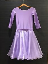 NDCA USAD Regulation Strict Competition Ballroom Latin Dance Dress for Girls 5-9