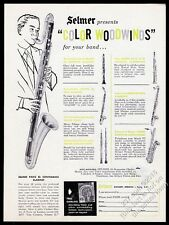 1959 Selmer Mark VI bari soprano saxophone English horn contra bass clarinet ad