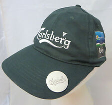 Carlsberg beer baseball  cap hat adjustable v