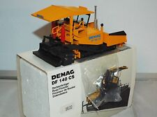NZG No 395 is the ex shop stock model of the Demag DF 140 DS tracked paver New